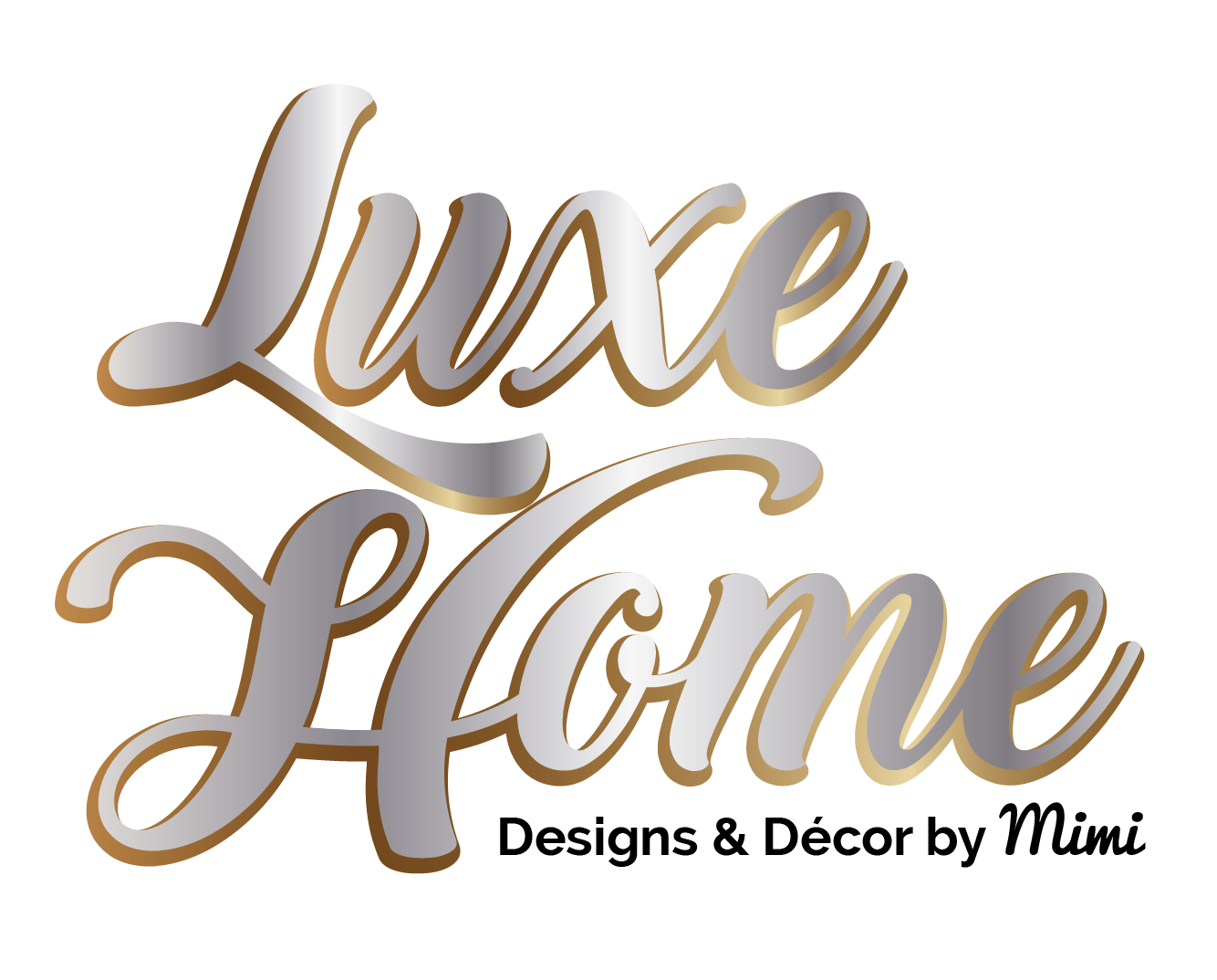 Luxe Home designs Logo